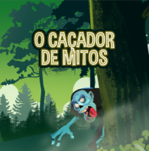 Game cover O Caçador de Mitos